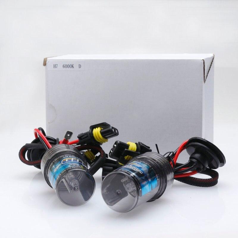 Автомобильная ксеноновая лампа HiD, самая дешевая (2 шт.), 12 В/24 В переменного тока, 35 Вт/55 Вт, Лампа H1 H3 H7 H8/h9/h11 Hb3/9005 Hb4/9006 880/h27, 6000K 8000K