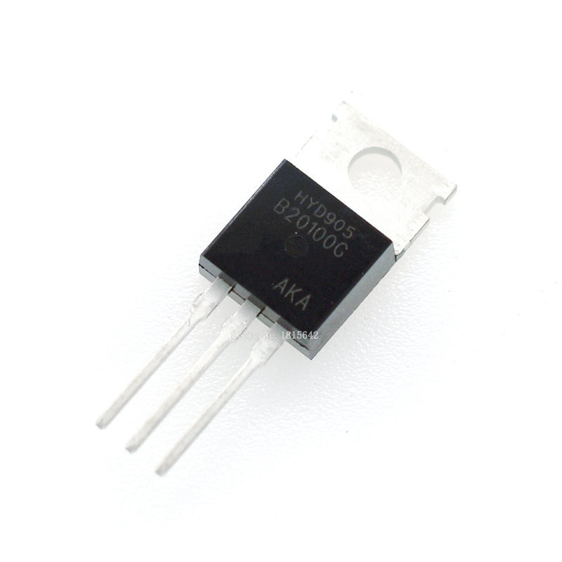 10 PCS STPS20S100CT TO-220 STPS20S100 POWER SCHOTTKY RECTIFIER