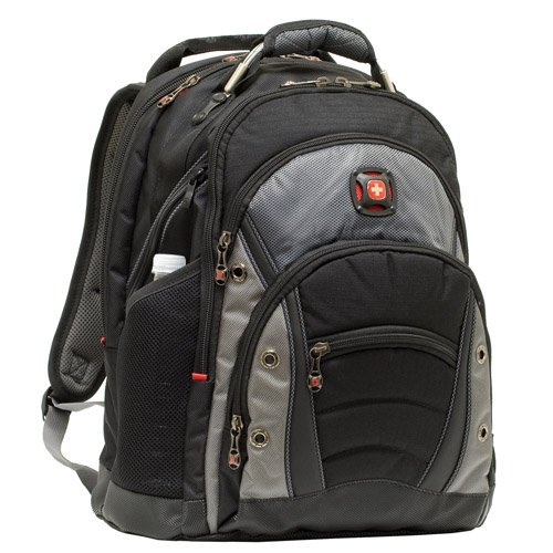 "WENGER Swiss Army 12"" 15.4"" Laptop Backpack GA 7305 Black"
