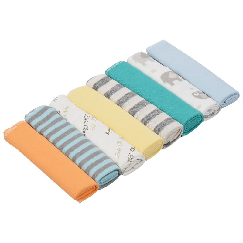 8pcs/pack 100% Cotton Newborn Baby Towels Saliva Towel Nursing Towel Baby Boys Girls Towel Washcloth Handkerchief KF011 (mixed)