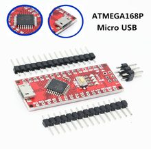 Nano Micro USB With the bootloader compatible Nano V3 Red controller for arduino CH340 USB driver 16Mhz Nano v3.0 ATMEGA168P(China)