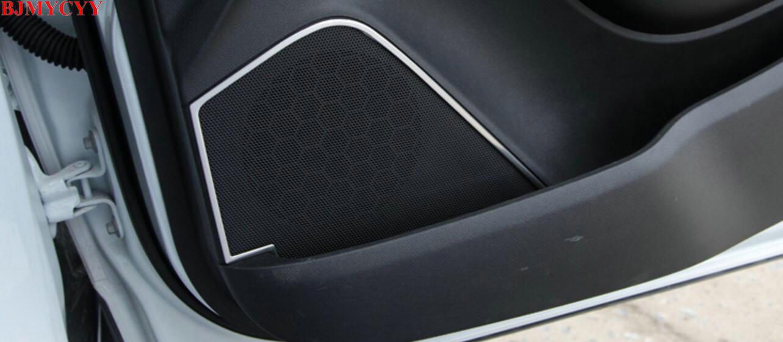 BJMYCYY Auto styling Auto tür klingen dekoration rahmen Fit Für ...