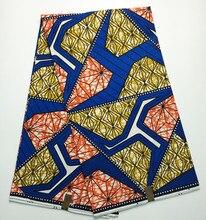 Afrikanische S163706 hollandais dutch wachs stoff für frauen partei edle kleid & schuhe, 100% Baumwolle Batik Hohe qualität super wachs 6 yards