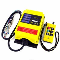 Industrial Remote Control Crane Transmitter 6 keys receiver+transmitter DC12V 24V AC36V 110V 220V 380V Switch