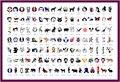 120 designs Airbrush tattoo Stencil Book Airbrush stencils Template - Book 19 - Free shipping