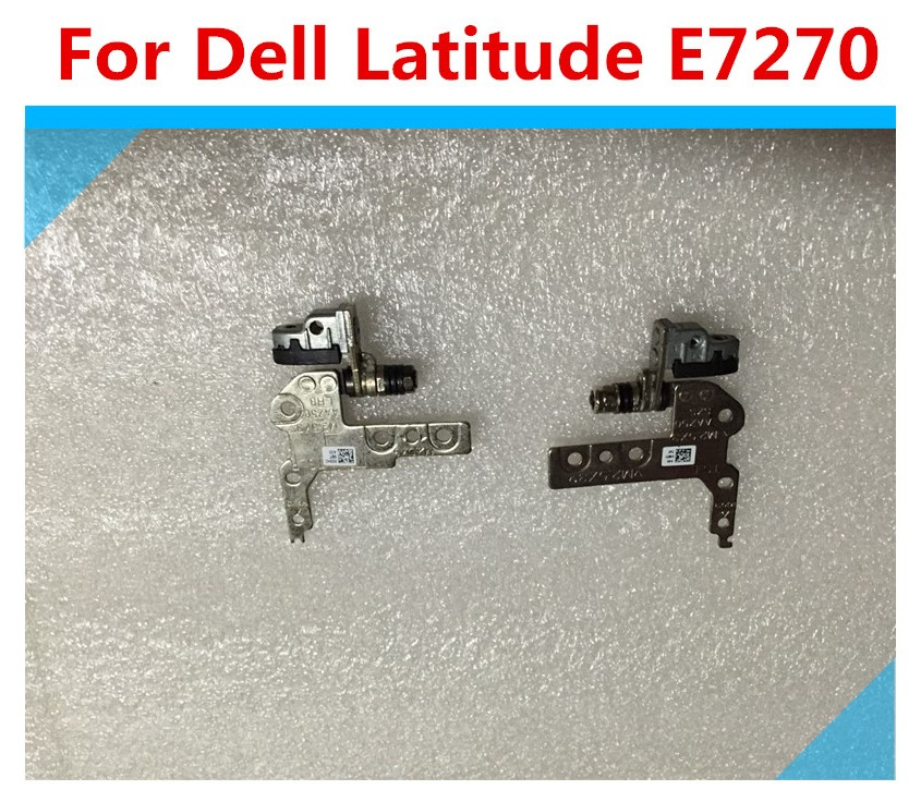 For Dell Latitude E7270 DX52Y Left & Right Hinge Set Tested Warranty