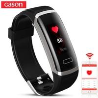 GASON B1 Smart Wristband Cicret Band Watch Heart Rate Monitor Smartband Pulsometer Sport Health Fitness Bracelet