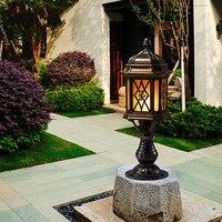 European classical waterproof outdoor column lamp wall lamp villa landscape light garden garden lighting LU810918