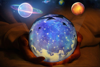 Magic diamond moon light starry sky outer space spot night led light projector romantic decor lamp for families friend kids gift