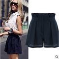 Shorts Femininos 2016 Summer High Waist Women Shorts Loose Casual Woman Shorts XQ1233