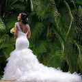 2016 Berydress Собственной разработки Люкс Дорогой Полный Бисером Реальной Африке Мода Vestidos Де Novia Sexy зашнуровать Свадебные Платья