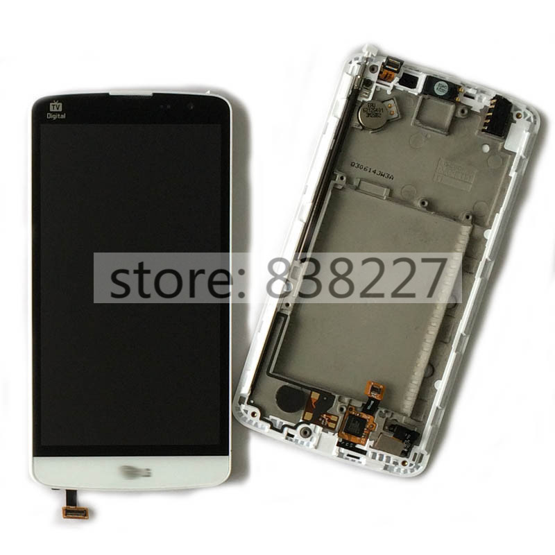ФОТО LCD display touch digitizer For LG L bello d331 D335 D337 L80+ LCD display Screen touchscreen Glass with Frame white in stock