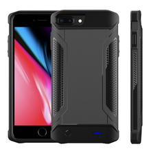 5000mAh Back Battery Charger Case Phone Bumper For iPhone 6/6s/7/8 Plus Extended Phone Spare Battery Protective Case