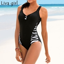 Liva girl plus size One-Piece Suits 2019 Push-Up Padded Brazilian Swimsuit hot Set Beach Monokini Bathing Swimwear Bikini 5XL