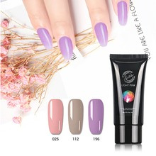 Gelike 60g Poly Gel Nail Polish Art Sale for Extension Quick Building Hard Varnish UV Lacquer Polygel