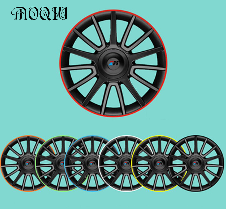 10 Color 8 Meters X Universal Car Wheel Rim Alloy Wheel Arch Protector Rim Protective Adhesive Rollers