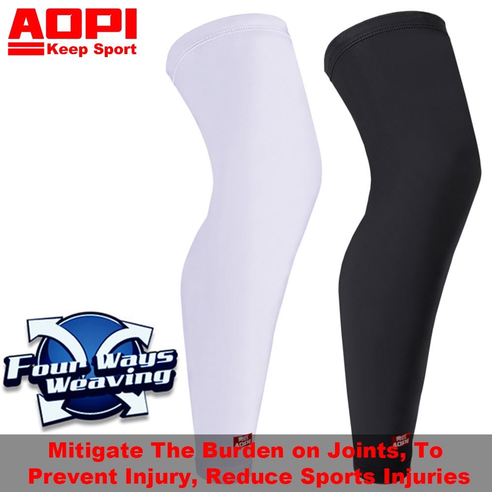 AOPI Μάρκα 1PCS μακρύ βαμβάκι Pad γόνατο - Αθλητικά είδη και αξεσουάρ - Φωτογραφία 2