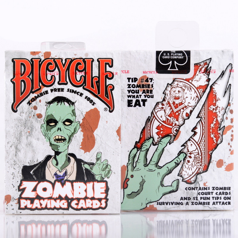 Bicycle Zombie Playing Cards 88*63mm Paper Cards Magic Poker Card Magic Trick Collection Card