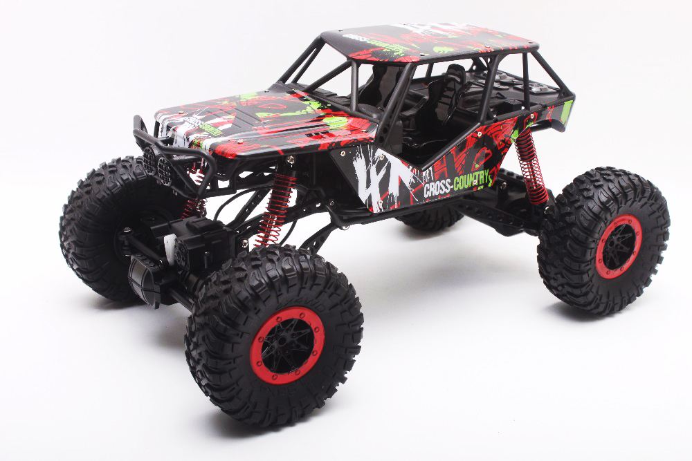RC Car 2.4GHz Rock Crawler Rally Car 4WD Truck 1:10 Scale Off-road Race Vehicle Buggy Electronic RC Model Toy HB-P1001 2016 best electric toy 4wd05 rc electric rock crawler king1 12 scale rc off road vehicle rechargeable battery