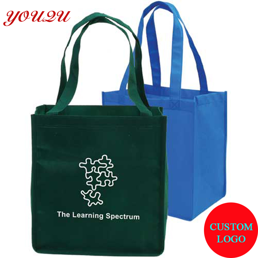 Economic non woven bag printing own logos and arrange design free before order confirm