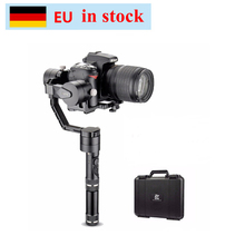 цена на (can ship from Germany) Zhiyun Crane V2 3-Axis Bluetooth Handheld Gimbal Stabilizer for ILC Mirrorless Cameras w/ Hard Case