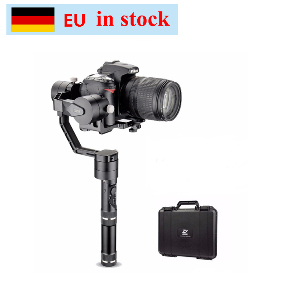 (can ship from Germany) Zhiyun Crane V2 3 Axis Bluetooth Handheld Gimbal Stabilizer for ILC Mirrorless Cameras w/ Hard Case