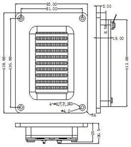 Image 5 - Sounderlink 1PC 60W high power Air motion tweeter transducer transformer AMT ribbon tweeter speaker full middle range