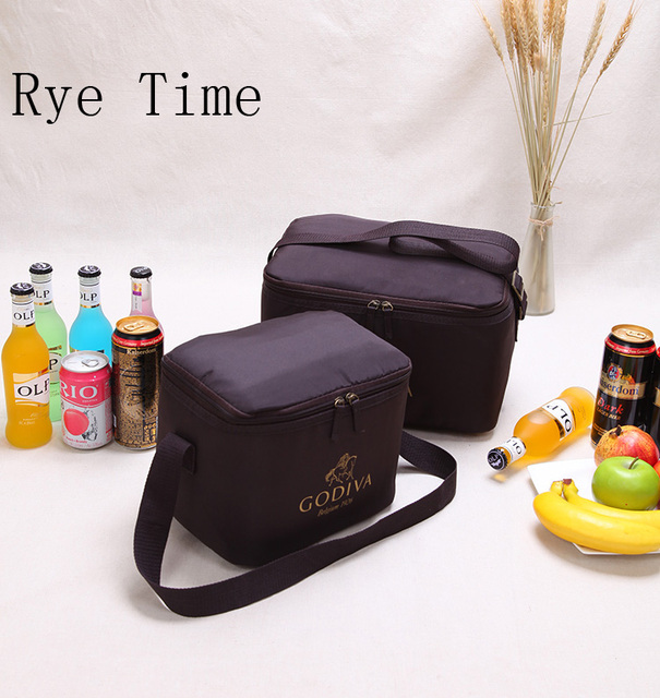 New Brand Cooler Insulation Bag Milk Wine Fruit Snacks Ice Pack Food Storage Cool Insulated Shoulder