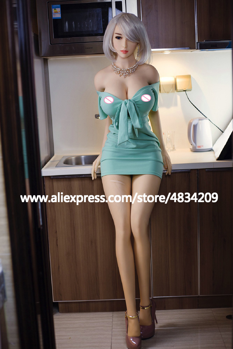Image 3 - NEW 170cm Lifelike Solid Silicone Sex Dolls Large Boobs Life Size Love Doll Oral Adult Artificial Vagina Real Pussy Sexy Dolls-in Sex Dolls from Beauty & Health