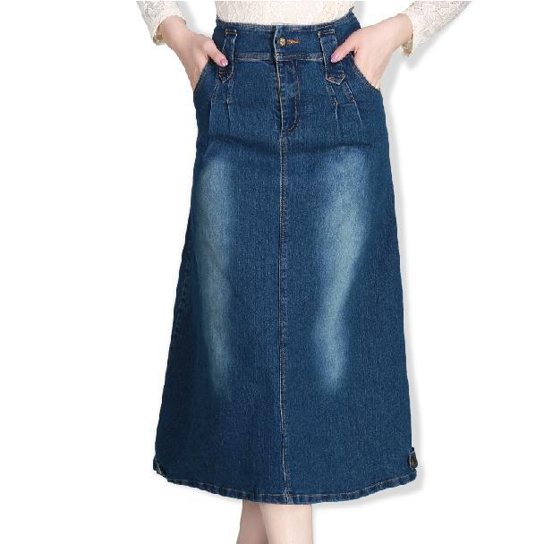 womens jean skirts plus size - Jean Yu Beauty