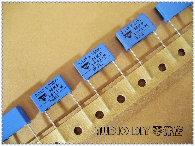 10PCS/50PCS MKP1841 Series 0.1uF 250V 250v0.1uf 10% Film Capacitance 100nF 104