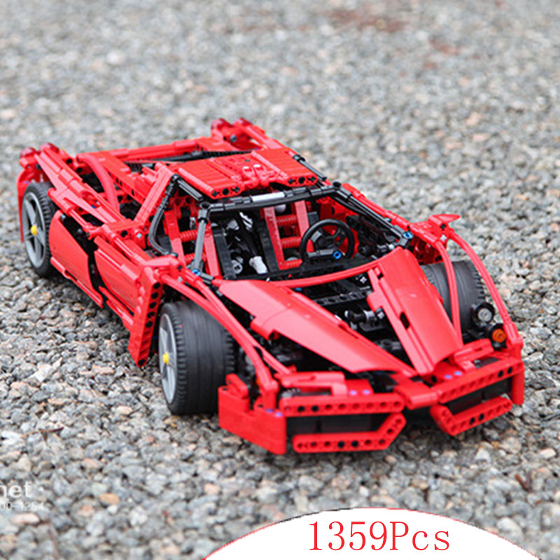 Bela Cit Technic series ENZO Supercar Car 1:10 model building blocks set Classic compatible legoed car Educational toys boy gift in stock new lepin 21009 fxx 1 17 toy building blocks 632pcs technic racing sports car supercar model boy gift compatible 8156