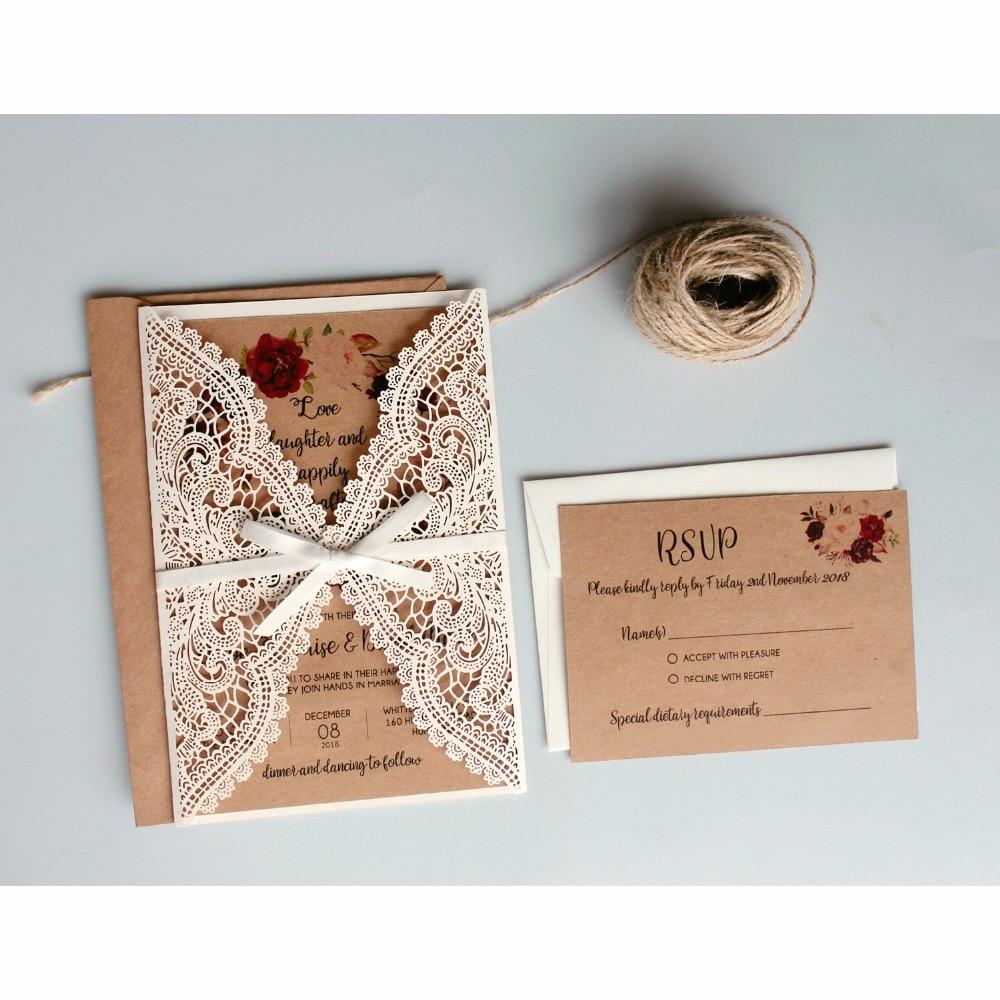 Buy Paper Wedding Invitations