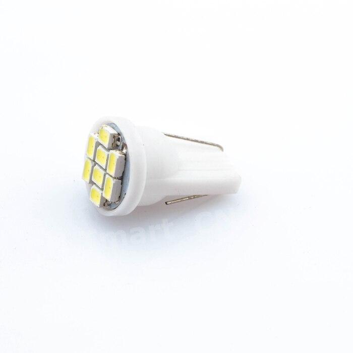 T10 8 smd Led 1206 8leds 8SMD Car Interior Light 194 168 192  3020 Auto Wedge Lighting W5W DC 12V High Quality 0 9m smd 3528 90 leds waterproof led rope light festival lighting