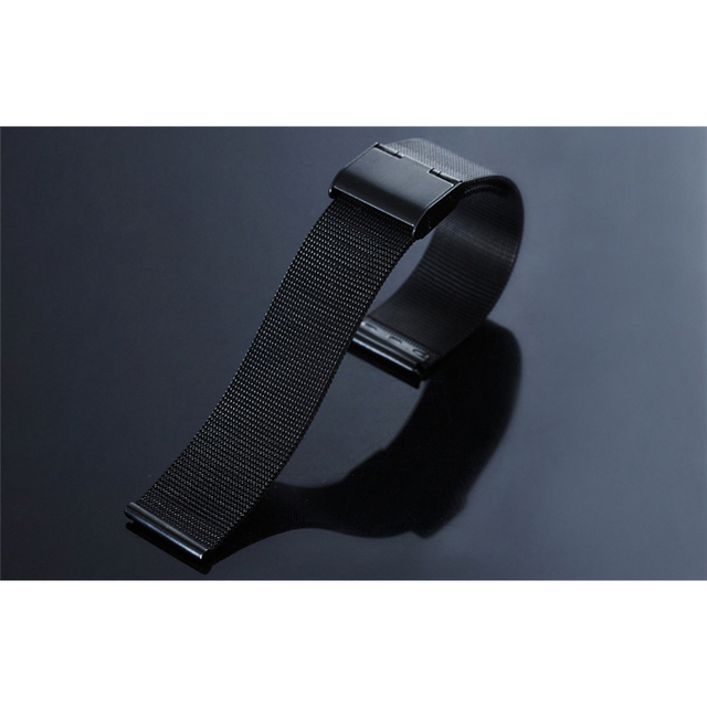 Replacement Stainless Steel Band Strap Black Silver for Newwear Q8 N3 Pro Smart Watch Accessories