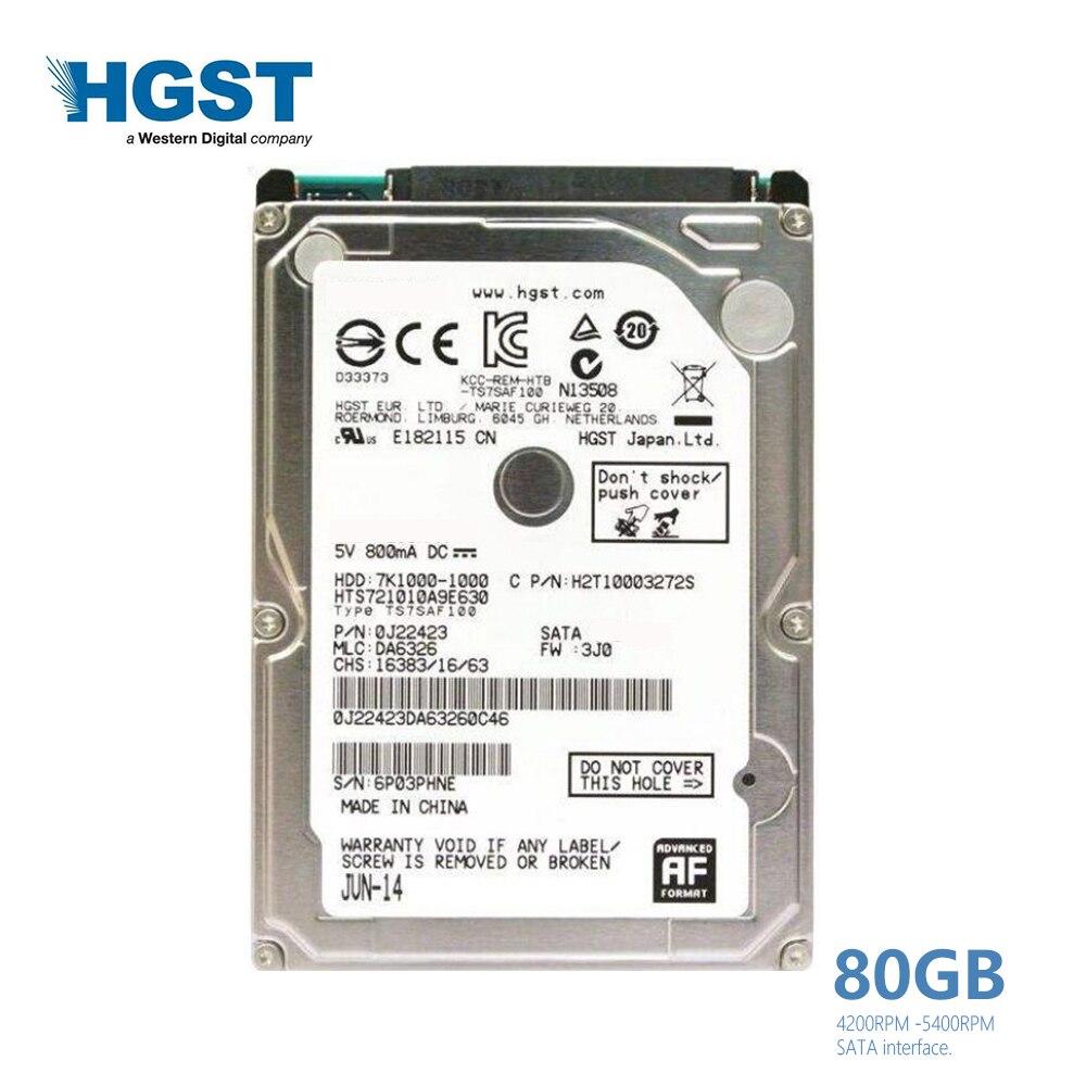 Snoamoo Used Internal Hard Drive 120gb Sata 150mb S 25 Inch Hardisk Laptop Hgst Brand 80gb 100mb Notebook Hdd Disk 2mb