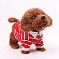 Juguetes Robot Perro Electrónico Divertido Perro Caminando Cantando Musicales juguetes de Peluche Juguetes Interactivos Para Niños Animal Encantador
