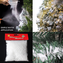 sale 1050g christmas tree white snow decorations snowflakes fake magic party for wedding artificial snow child play