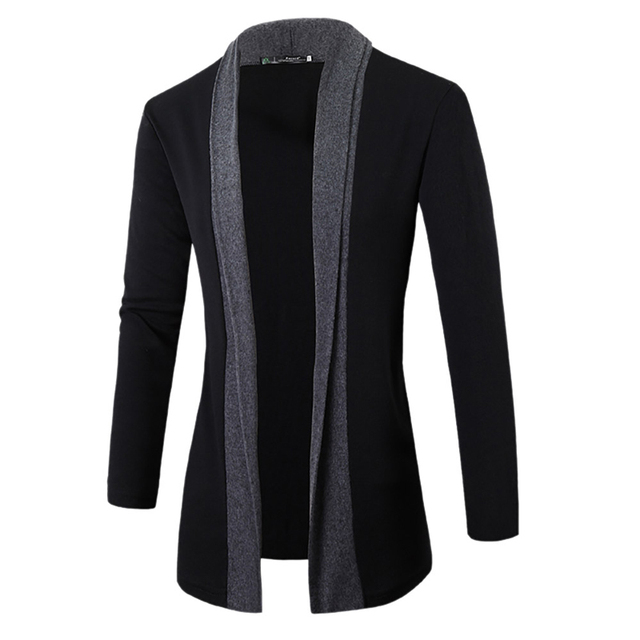 2017 Autumn Hot Mens Sweater Long Sleeve Cardigan Male V neck Autumn Knited Sweaters Men Casual Slim Fit Coat Men Clothing