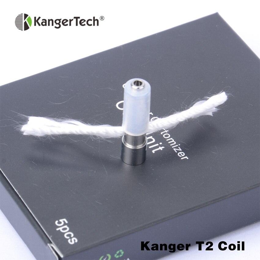 bilder für 15 teil/los! Original kanger t2 spulenkopf 1.8ohm 2.2ohm 2.5ohm Kompatibel für kangertech T2 atomzier großhandel preis von china