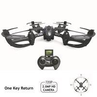 Mejor Tarántula Quadcopter Mini Drones con cámara HD I4S Dron RC helicóptero una tecla de retorno 2,4G 6axis Quadrocopter remoto un Helicoptero