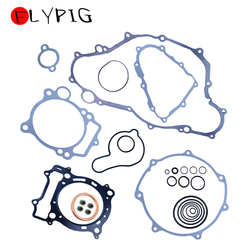 FLYPIG Durable Engine Gasket Kit Set Top & Bottom for Yamaha YFZ450 YFZ 450 2004 2005 2006 2007 2008 2009 image
