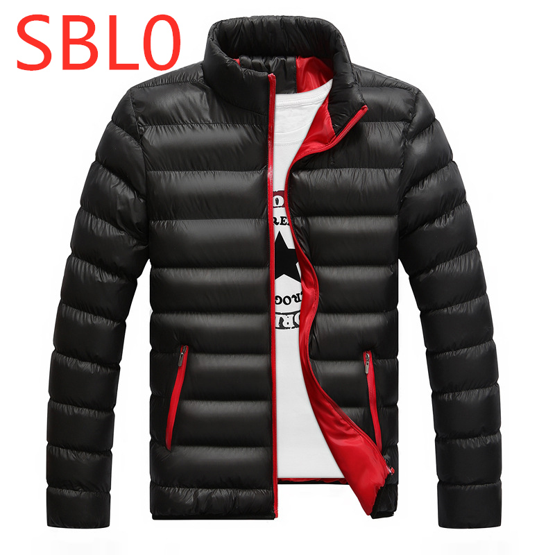 SBL0 Print Logo Winter For Men's Ultralight Full Duck   Down   Outwear Man Vest   Down   Jackets Outdoor Male Leisure Zip Harajuku   Coats