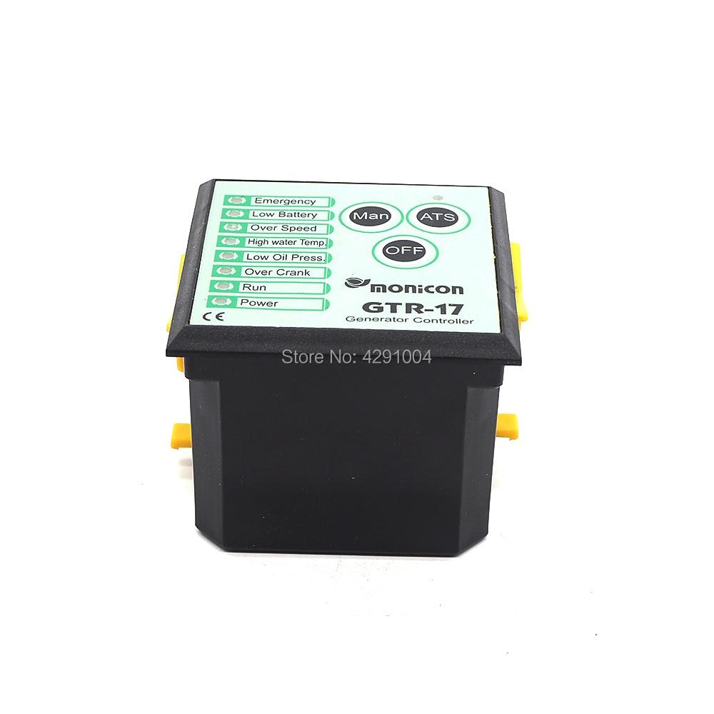 Match Diesel generator control panel GTR-17 Electronic controller GTR-17 цена