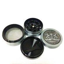 Hot Sale Design Mini 4 Parts Grinder  Herb Smoke Tobacco Hand Muller Diameter 40mm