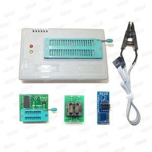 Image 5 - XGECU 100% Original New TL866II Plus Universal Minipro Programmer+24 Adapters+Test Clip TL866  PIC Bios High speed Programmer