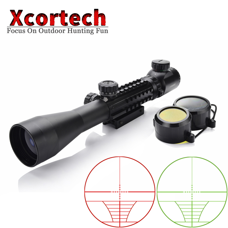Tactical 3-9X40 Riflescope Optics Rifle Scope Sniper Gun Hunting Scopes Sight Fit 11mm&20mm Picatinny Rail For Airsoft