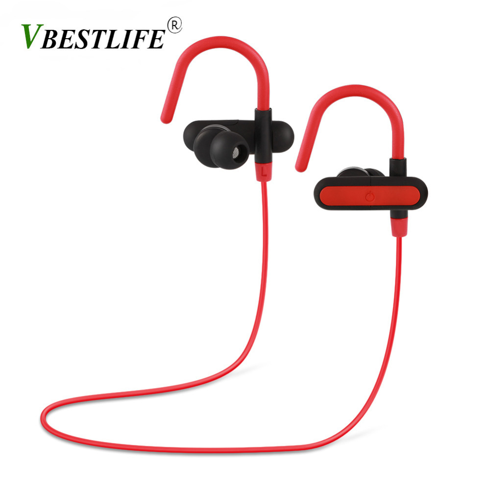 Wireless Bluetooth Stereo Headphone Ear Hock Sports Headphone HD Smart Touch Headset for Iphone