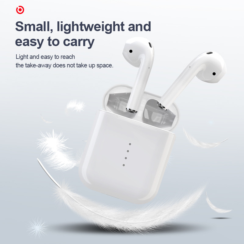 Touch Bluetooth Earphone i10 <font><b>Tws</b></font> Wireless Bluetooth Headset For Phone Earbuds Running Sport Earbuds For IPhone Xiaomi <font><b>i</b></font> <font><b>10</b></font> <font><b>tws</b></font> image