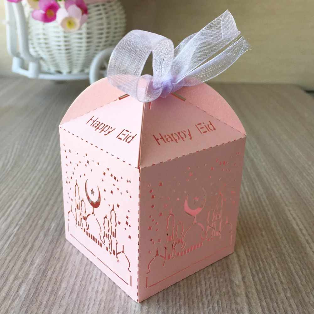 Most Inspiring Happy Eid Al-Fitr Decorations - 100Pcs-Happy-Eid-Celetrate-Ramadan-Eid-al-Fitr-holiday-Party-Dinner-Decoration-Candy-Gift-Favor-Box  Perfect Image Reference_13751 .jpg